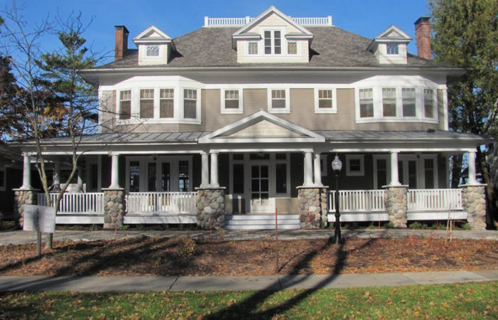 historical restoration of Michigan estate